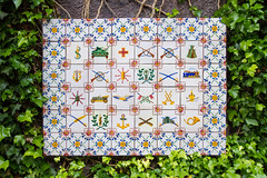 Tiles (Brian Ritchie) Tags: portugal gardens monte madeira funchal montepalacetropicalgardens
