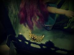 Fairy Terrarium (Tiqurien) Tags: bjd bjds fairies fae pukipuki piki browniedoll nene fairyland iplehouse chimera chase dollshe cleverlittle batchix elf elves blue fantasy monster fairytale tale storybook pastel vintage steampunk creepy spooky lights cage terrarium sd
