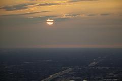 Summer symbols (aerojad) Tags: sunset chicago hancockbuilding goldenhour 360chicago