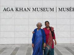 Toronto-15.14 (davidmagier) Tags: portrait toronto ontario canada museum can ponytail aruna saris shalwarkameez mataji