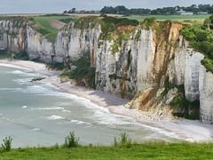 Normandi, Yport, met zijn prachtige kliffen (NellyvanZwol) Tags: falaise clifs normandi yport kliffen lanormandie