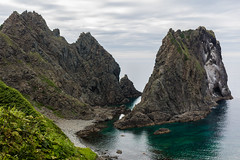 Shimamui Coast (Role Bigler) Tags: japan landscape coast hokkaido shimamui rockycoast japanesesea highpov japanischesmeer shimamuicoast canoneos5dsr tamronsp45mmf18divcusdf013