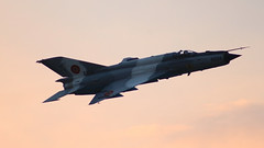 MiG-21 LanceR C 6824 - RoAF (George Crciunescu) Tags: mig mikoyan gurevich mig21 lancer c turbojet tumansky r13 roaf aircraft airplane fighter mf mf75