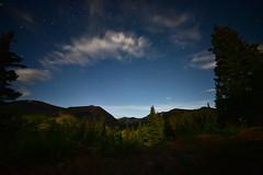 Moonlit Hoosier Pass, Colorado (AmyMaas) Tags: hoosierpass colorado nightsky astrophotography continentaldivide moonlight moonlightsky stars starrynight rockymountains