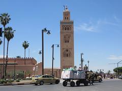 Marrakesh Koutoubia_9986B (JespervdBerg) Tags: holiday spring 2016 africa northafrican tamazight amazigh arab arabic moroccanstyle moroccan morocco maroc marocain marokkaans marokko marrakech marrakesh koutoubia