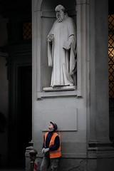 Aretino (Marat Elkanidze) Tags: firenze sculptures people uffizi