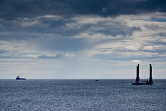nigg (pamelaadam) Tags: sea summer digital scotland august fotolog aberdeen 2013 thebiggestgroup