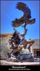 """Braveheart"" (Paul K McClure) Tags: newmexico santafe tonemapped sonya6000 santafestreetsculptures"