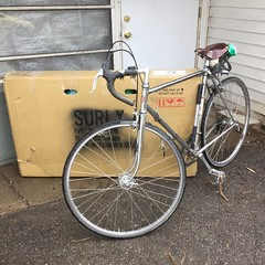 Hauled the '62 Jack Taylor in the hard way (ddsiple) Tags: cycling jacktaylor schwinnparamount