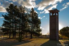 Campanario (FlavioSpezia) Tags: cloud color tree arbol iglesia belfry nube chuch campanario