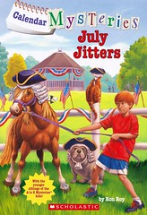 July Jitters (Vernon Barford School Library) Tags: new school costumes fiction pet pets animal animals mystery sisters reading book costume high twins brothers sister cousins brother library libraries contest reads july parades twin 7 books siblings parade read paperback cover seven junior fourthofjuly novel cousin covers bookcover sibling middle july4th 4thofjuly july4 vernon quick recent qr bookcovers paperbacks mysteries novels fictional contests costumecontest barford julyforth softcover quickreads quickread costumecontests vernonbarford mysteryfiction softcovers mysterystory ronroy johnstevengurney mysterystories 9780545620666 calendarmysteries
