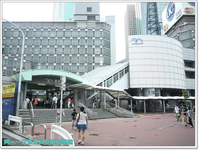 東京景點御台場海濱公園自由女神像彩虹橋水上巴士image001