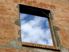 Window with a view_Colosseum, Rome (MM_Miha) Tags: blue sky italy rome window view colosseum