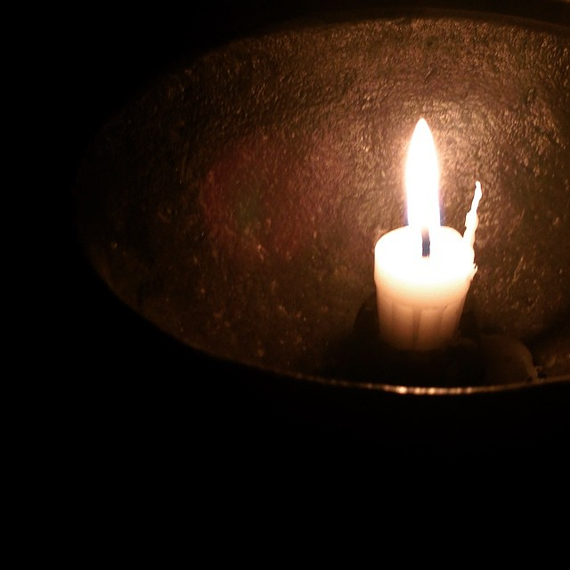 EARTH HOUR 2015 #earthhour #candle #halmstad #sweden