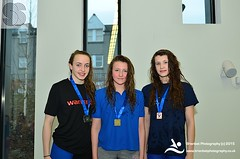Louisa Sinclair, Katy Smith, Milly Scotchbrook (scottishswim) Tags: swimming scotland aberdeenshire scottish aberdeen age groups gbr snags2015