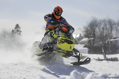 Snowcross Construction HPL 2015 #1 822 (Glenn Fullum) Tags: winter snow race snowmobile skidoo polaris snocross brp roberval lacstjean scmx winterrace articcar