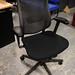 Black mesh back office chair