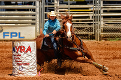 Barrel Racer (#3), 2015 Arcadia Youth Rodeo (Eric Seibert) Tags: rodeo barrelracer beautifulhorse arcadiaflorida youthrodeo arcadiarodeo youngcowgirl ericseibert juniorbarrelracer