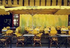 Arles | Le Cafe la Nuit (karin brigitta) Tags: france yellow frankrijk provence arles vangogh oldstuff bouchesdurhone yellowbuilding cafelanuit colourartaward artlegacy karinbrigitta