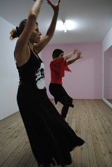 Clase baile flamenco