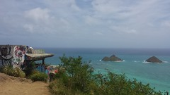 Station Podmore and the Mokes (XJCreations) Tags: hawaii oahu lanikai bunkers kaiwa xjcreations