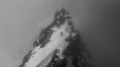 Fog.jpg (danielsansu) Tags: bw mountain fog chamonix montblanc