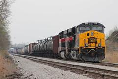 IAIS 515 (cc8039) Tags: ri heritage illinois trains silvis unit crip 513 iais ess44ac