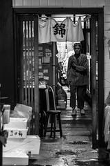Day 170-365 Mercato giapponese (giuliomeinardi) Tags: street old people woman fish girl japan canon tokyo photo donna kyoto market 365 mercato giappone pesce projet anziana giuliomeinardi