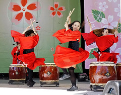 COBU-Japanese Taiko Drumming & Dance. (tripletstate) Tags: dance drum centralpark stage performance drumming japanday