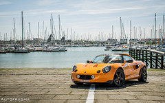 Ypres Lotus Day 2016 (Afternoon apero stop) (Official_Autofragma) Tags: car photography day afternoon lotus elise harbour stop seven passion eleven caterham esprit ypres apero 340r exige nieuport autospotting autofragma
