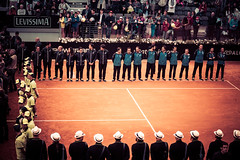 Draw the court boundaries (robertofaccenda.it) Tags: rome roma sport italia tennis final finale lazio eventi foroitalico internazionaliditalia internazionalibnlditalia lacitteterna altreparolechiave master1000 ibi16