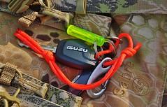 Key Ring EDC (paulelcoat) Tags: keys sabre karrimor isuzu victorinox penknife paracord kryptec