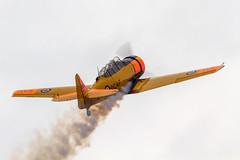 RCAF North American Harvard 4 20247/NX1811B '247' (Hugh Dodson) Tags: saturday ypsilanti rcaf 247 willowrun northamerican 20247 harvard4 nx1811b thunderovermichigan2015