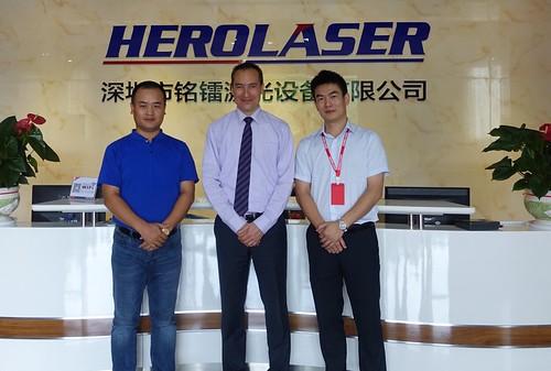 Visit to HEROLASER