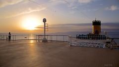 at sunset (Gerald Wollner) Tags: sunset sea costa canon see meer mediterranean sonnenuntergang diadema mallorca crusade balearen mittelmeer ozean kreuzfahrt canoneos6d