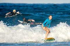 Veteran surfer 2 - Tallow Beach (sbyrnedotcom) Tags: ocean sea beach waves action australia surfing nsw surfers byronbay tallowbeach