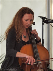 Jo Hooper with Mudskippers (ExeDave) Tags: world birthday uk england music rock hotel concert folk live gig band may devon pre cello indie gb sw trio turf gerry progressive theturf cellist 2016 prog exminster mudskippers acousticish johooper p5224640