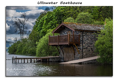 Ullswater boathouse (R0BERT ATKINSON) Tags: trees lake water clouds lakedistrict cumbria ullswater ullswaterboathouse nikond5100 robatkinsonphotography
