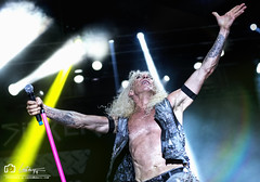 Dee Snider  - Twisted Sister (fergarlaura) Tags: dee snider twisted sister metal glam rock 1973 newyork music concert rockfest barcelona nikon 70200 28 light flares