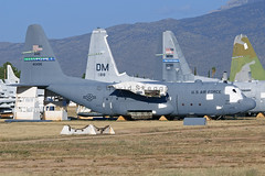 64-0495 C-130E Hercules - Aerospace Maintenance and Regeneration Group (AMARG) - Davis-Monthan AFB, AZ (David Skeggs) Tags: aircraft aeroplane military usaf usairforce davidskeggs amarg amarc masdc boneyard c130 c130e hercules