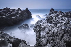 El Golfo (Jigsaw-Photography-UK) Tags: blue sea misty photography rocks seascapes lanzarote atlantic jigsaw milky elgolfo bigstopper