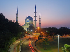 Masjid Sultan Salahuddin Abdul Aziz Shah, Selangor.