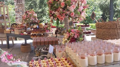boda vintage en jardin la concepcion por il novo catering