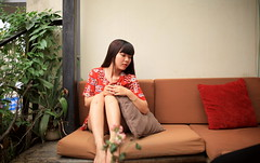 (pmHermione) Tags: me myself cafe weekend sunday m vietnam hanoi summeriscoming vietnamesegirl canopee