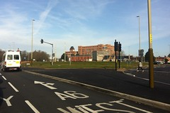Photo of Belgrave Leicester without the flyover.