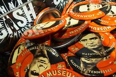 Johnny Cash Museum Nashville TN (ho_hokus) Tags: tn nashville tennessee pins johnnycash badges x20 2015 musiccity johnnycashmuseum fujix20 fujifilmx20