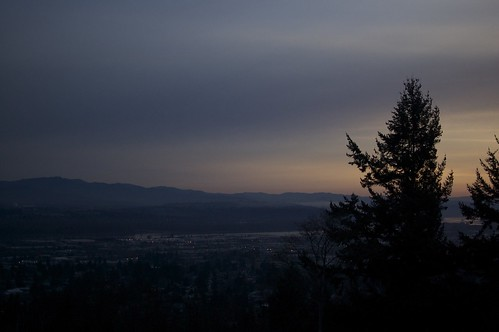 Sunrise from Rocky Butte