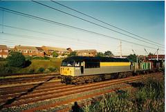 56036 Wigan (British Rail 1980s and 1990s) Tags: train br diesel rail railway loco trains locomotive britishrail nineties 1990s 90s 56 livery mainline lmr westcoastmainline wcml class56 56036 londonmidlandregion liveried type5