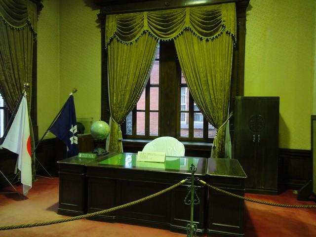 北海道知事のお部屋です。|北海道庁旧本庁舎(道庁赤レンガ庁舎)