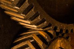 Engranajes helicoidales dobles (pepsamu) Tags: molino dobles ruedas engranaje engranajes hidrulico dentadas helicoidales